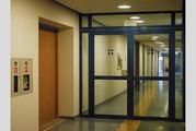 Алюминиевые двери (из алюминиевого профиля). Купить в Минске